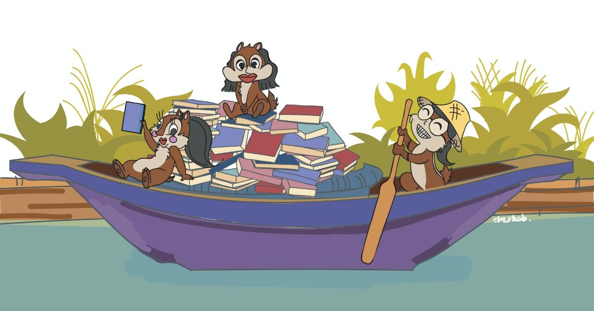 แป๊บ สา น้ำ มีสามพี่น้อง ขายของในคลอง ในกองมีแพลนเนอร์ดีๆ